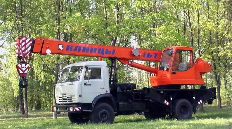 Автокран Клинцы КС-35719-1-02 (4х2)