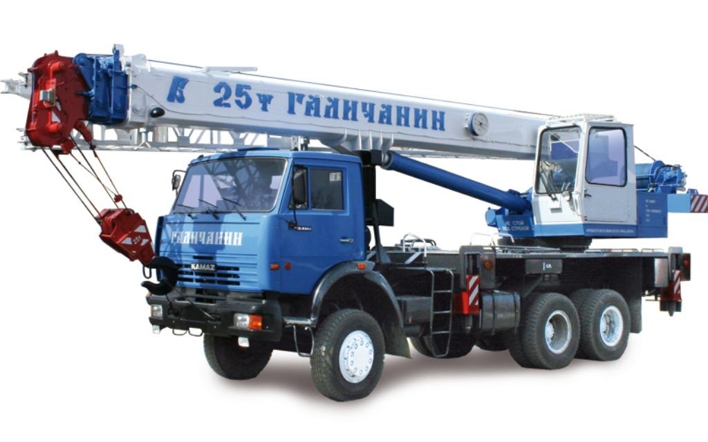 Автокран Галичанин КС-55713-1 (6х4)