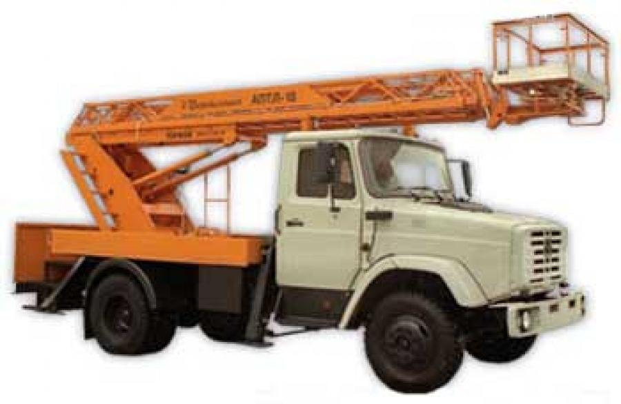 Автовышка ГАЗ АПТ-18 (4х2)